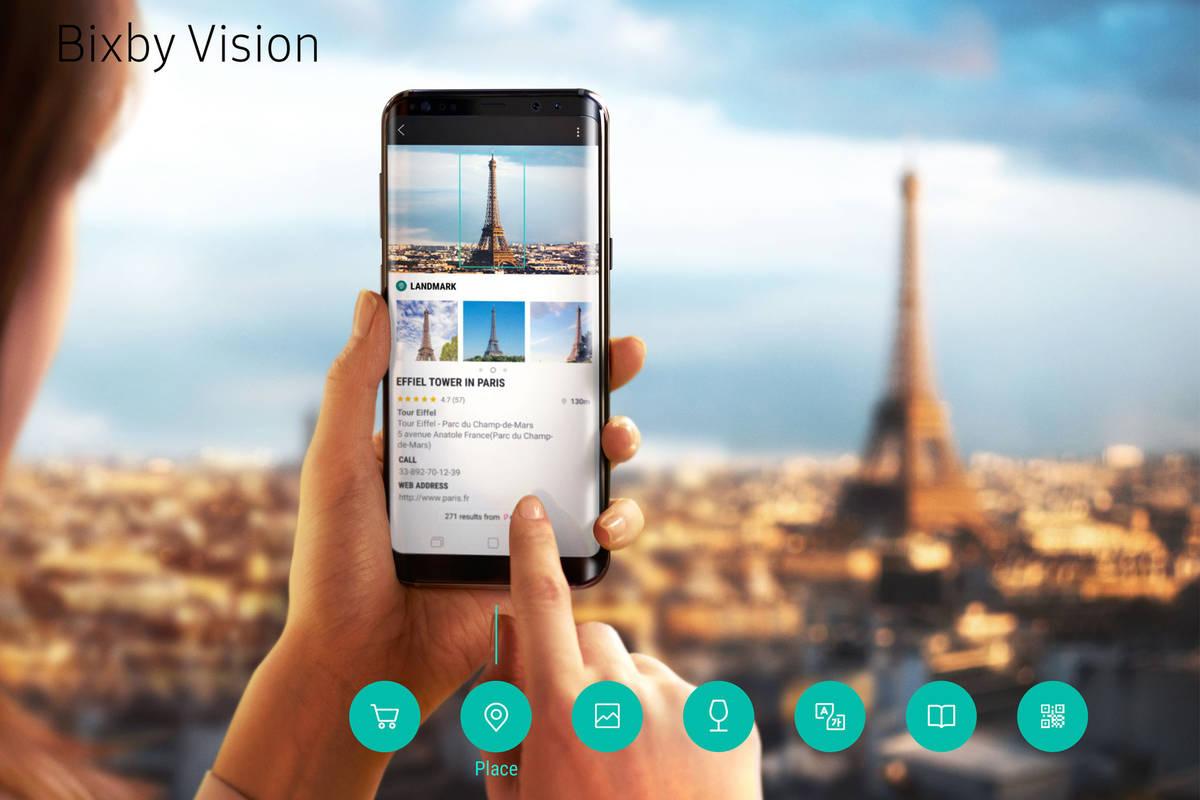 Bixby Vision – Funktionen rund um das Thema Bilderkennung