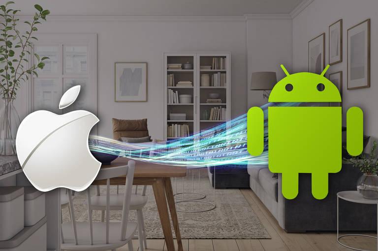 Datentransfer von iOS auf Android