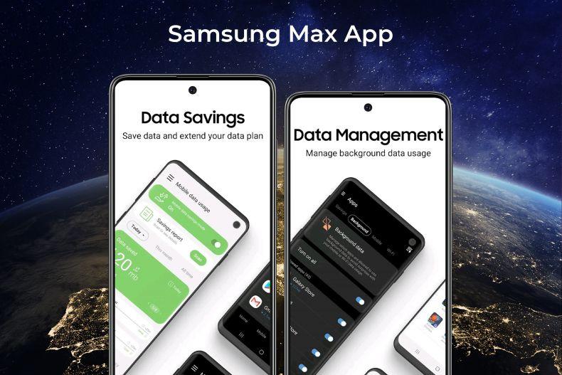 Datenvolumen sparen mit der Samsung Max App