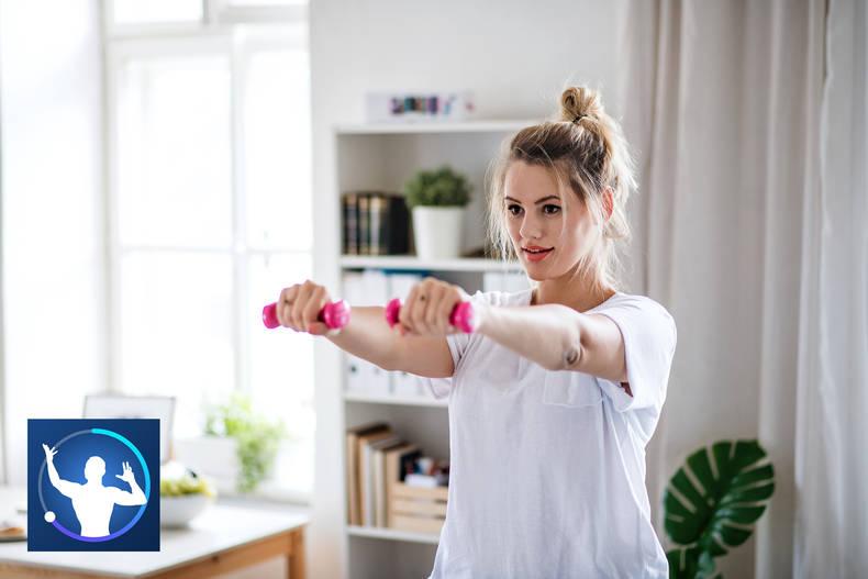 Fitify App – Oberkörper Workout für Zuhause