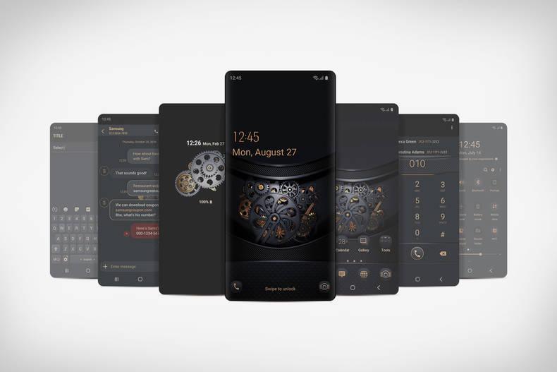 Neues Design auf dem Smartphone installieren und personalisieren