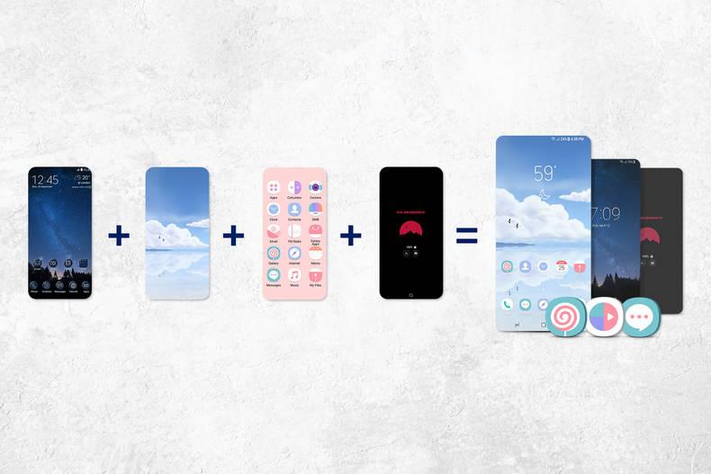 Mit Galaxy Themes den Handy-Bildschirm schnell und einfach personalisieren