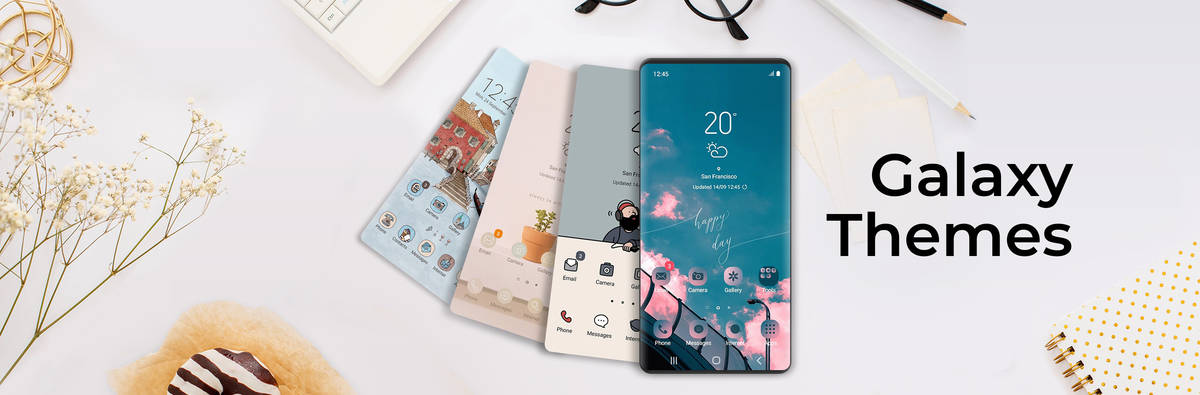 Galaxy Themes: Individuelle Designs für das Galaxy-Smartphone
