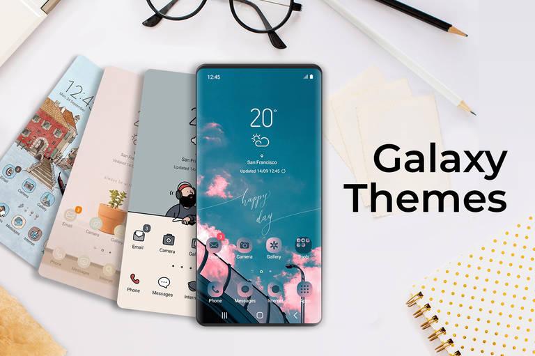 Galaxy Themes: Das Style-Up für den Bildschirm