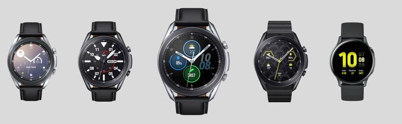Verschiedene Galaxy Watch-Modelle im Überblick