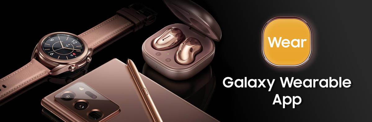 Die App zum Verbinden und Verwalten von Samsung-Wearables.