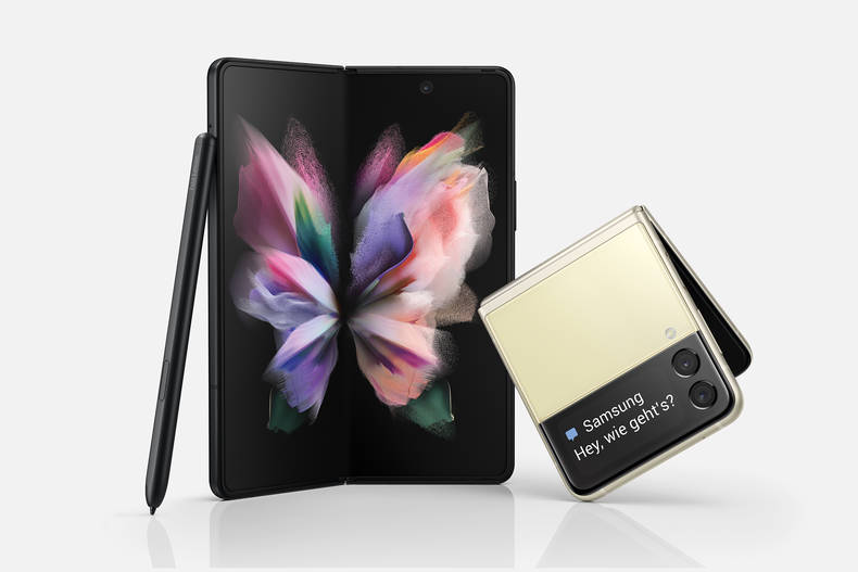 Samsungs neueste Premium-Foldables: Galaxy Z Fold3 und Galaxy Z Flip3