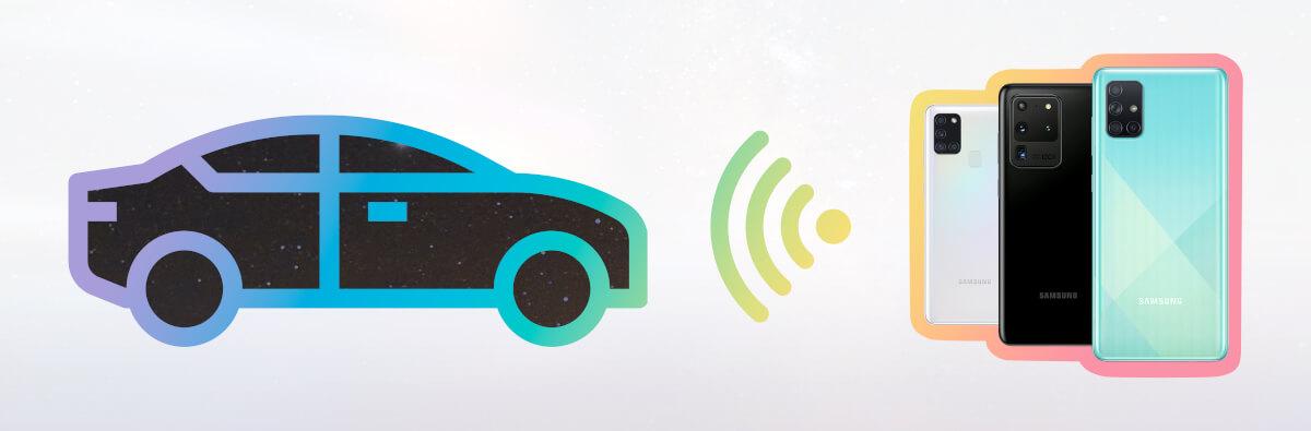 Samsung Connect – Galaxy Handy mit dem Auto verbinden