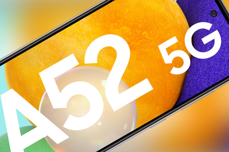Das Display des Galaxy A52 (5G)