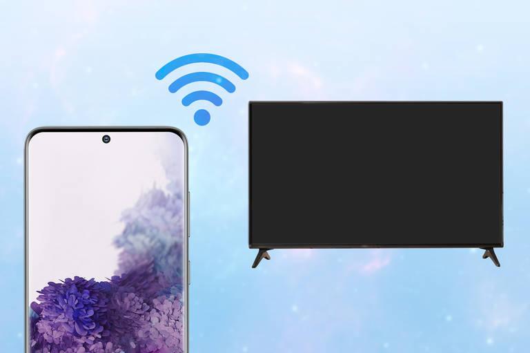 Galaxy mit Smart TV verbinden