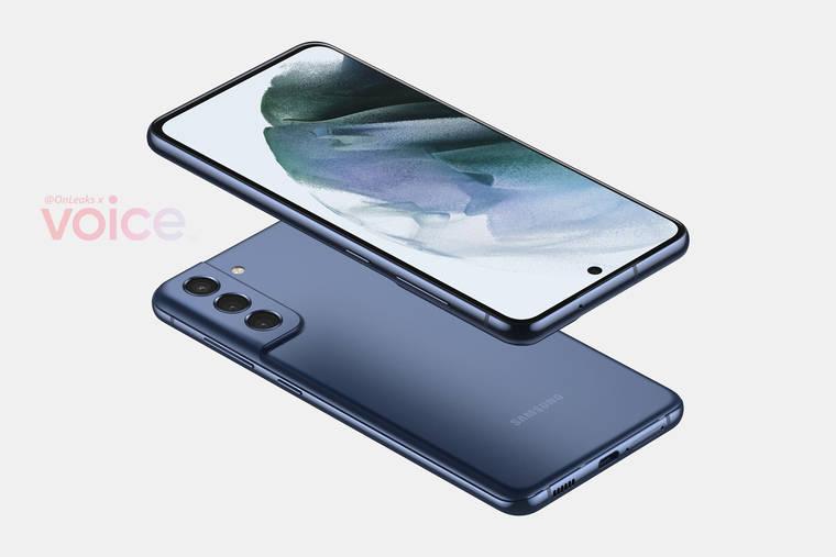 Renderbilder zeigen das mögliche Design des Galaxy S21 FE