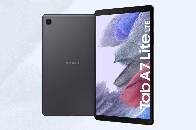 Galaxy Tab A7 Lite: Zeitlos schickes und kompaktes Design