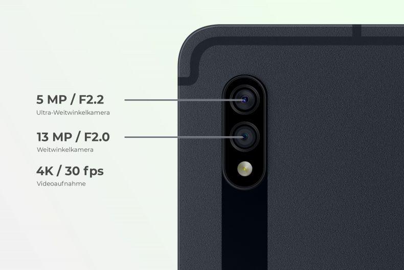 Die Kamera der Galaxy Tab S7-Serie