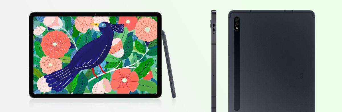Samsung Galaxy Tab S7 und S7+: Die Tablet-Flaggschiffe