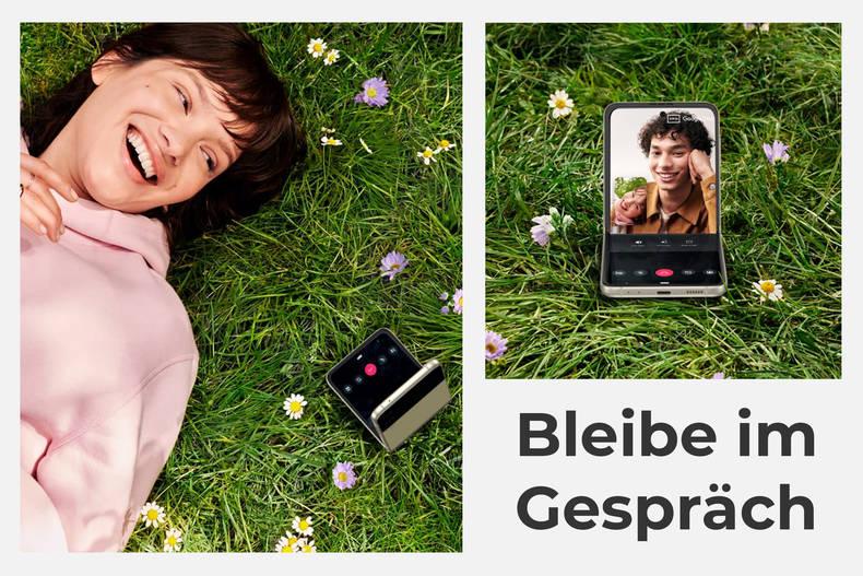Der Flex Modus des Samsung Galaxy Z Flip3