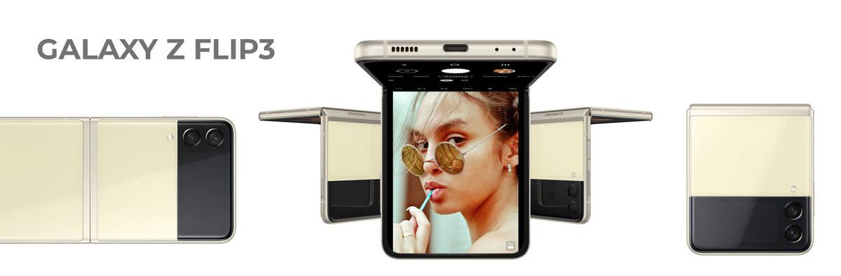 Galaxy Z Flip3: Das neue, kompakte Samsung-Klapphandy