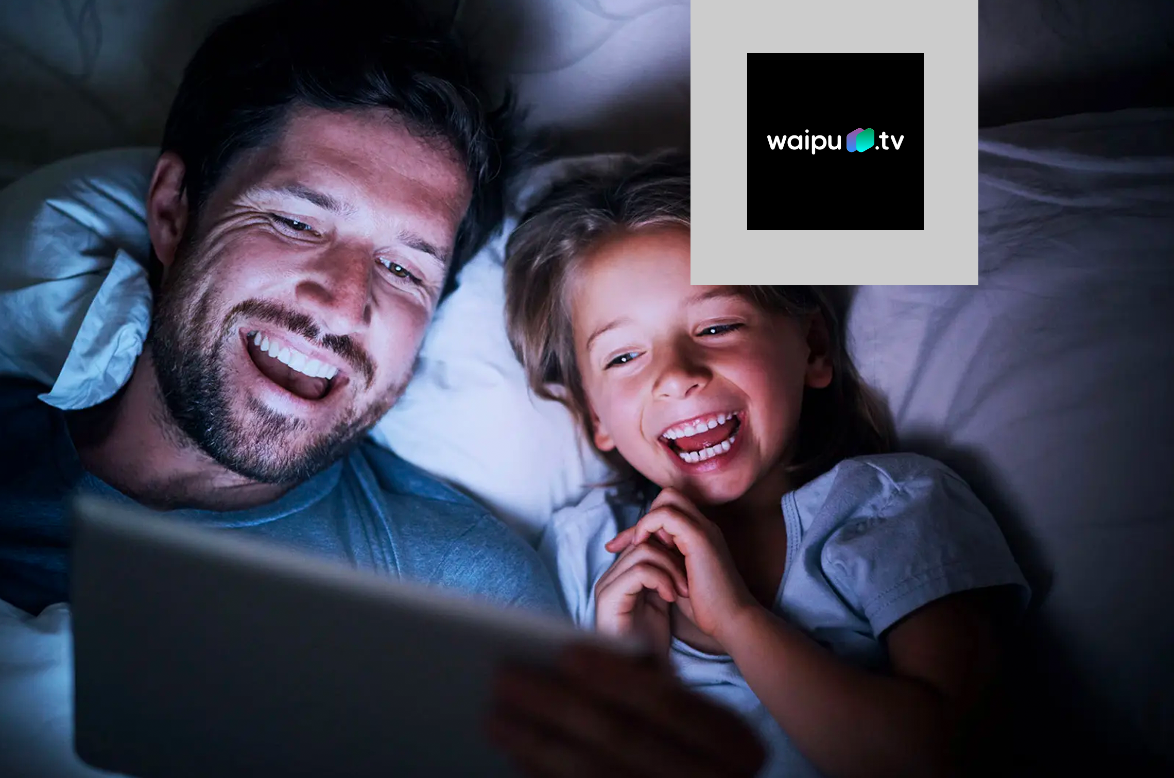 """Die TV-App """"waipu.tv – Live TV-Streaming"""""""
