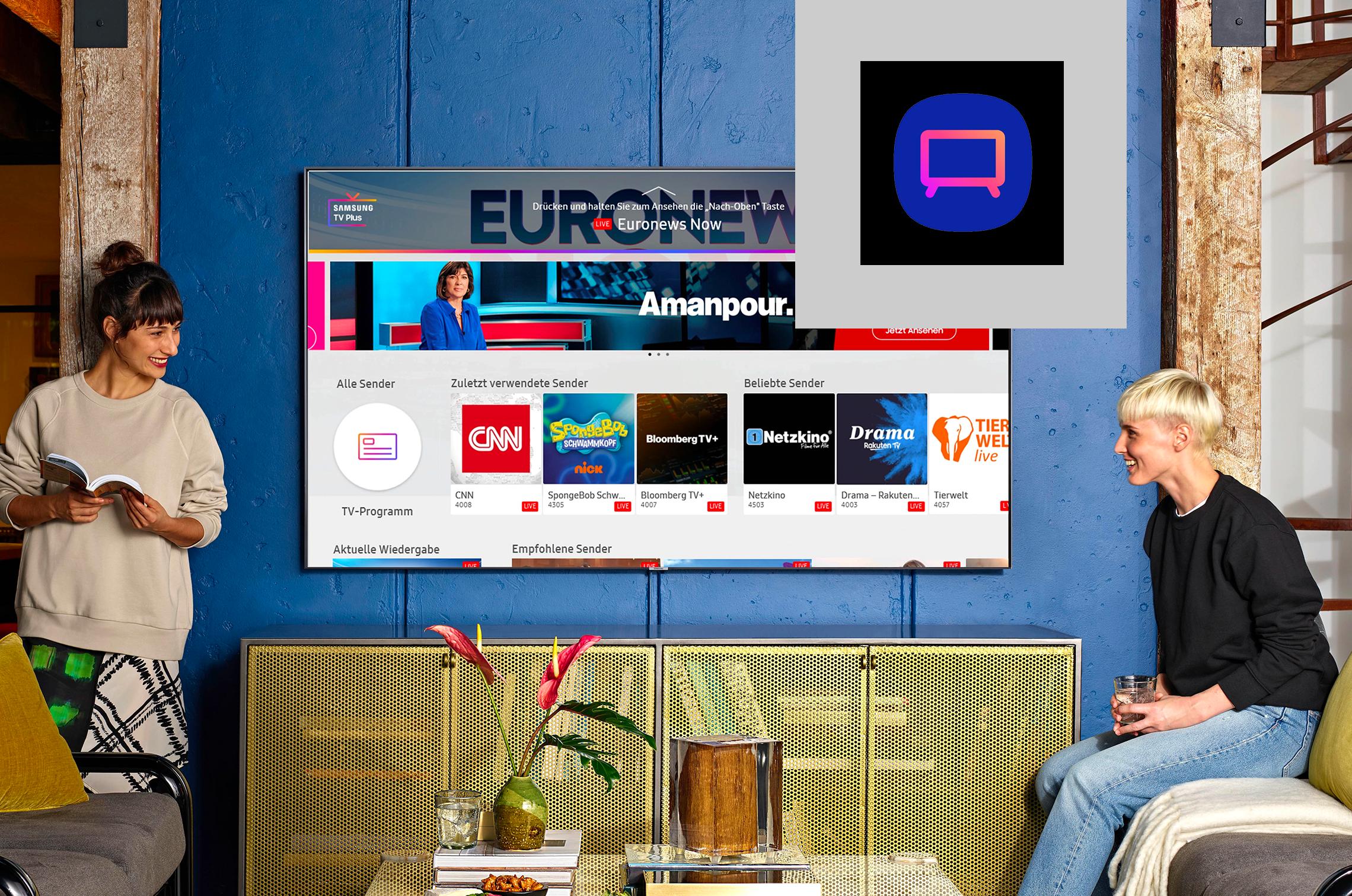 """Die TV-App für Galaxy-User: """"Samsung TV Plus"""""""