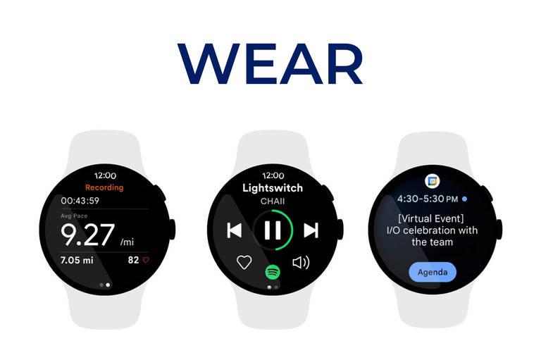 Smartwatch-Betriebssystem Wear